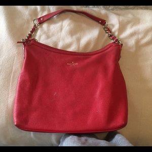 Kate Spade large coral bag